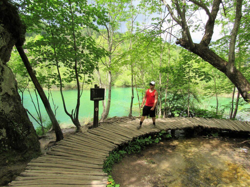 Reid at Lake Plitvice from FerMedicaUSA